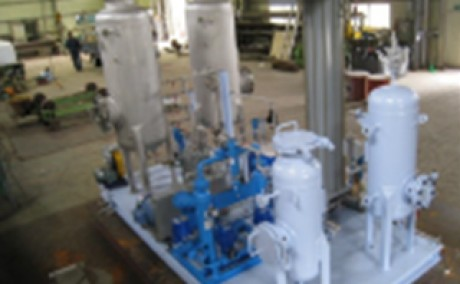 Biogas Purification & Upgrading (5 m3/hr) for Hyundai Engineering & Construction