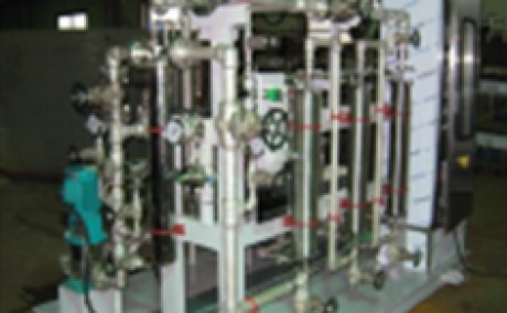 Membrane Degasifier System (for Nuclear Power Research, KOREA)