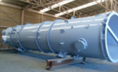Vacuum De-Aerator (750 m3/hr) for Ship Impeller Test Facilities (Cavitation Tonnel) KOREA Ocean Research Centera